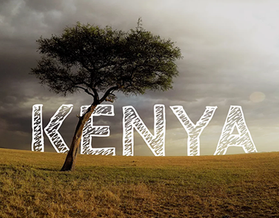 4 Friends traveling in Kenya