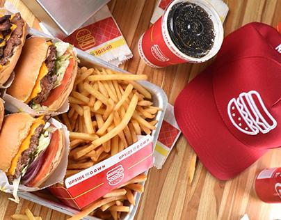 Upside Down Burgers - Identity