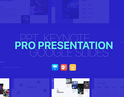 (FREE) Pro Presentation - Smooth Animated Template