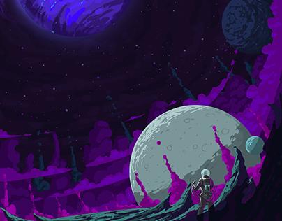 NASA - Future Poster - Neptune's Proteus