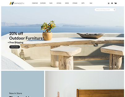 UI/UX   Furniture Website & App Concept