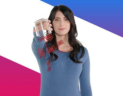 """Mediaset """"IO NON LA BEVO"""" - ADV campaign -"""