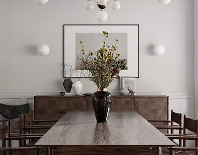 Hendale Avenue villa interior design
