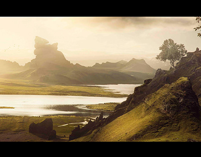 Matte Painting - Unknown