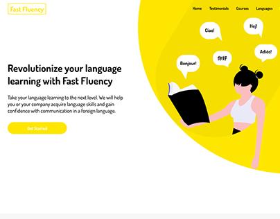 Fast Fluency - Language Learning Website