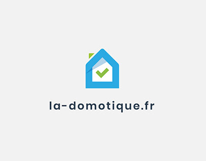 New logo and branding for la-domotique.fr