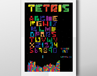 Tipografia - Tetris