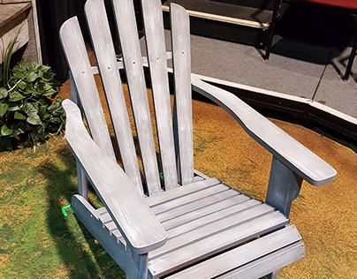 Weathered Lawn Chair (Eminent Domain 2017)