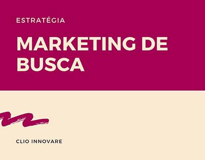Planejamento estratégia de Marketing de Busca - BZZZ