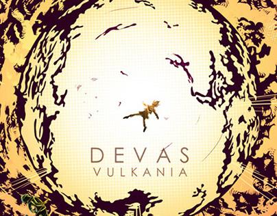 Devas - VULCANIA. Cover Artwork