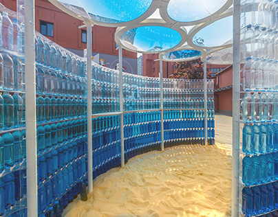 WaterLovers. Pavillion for Biotherm.