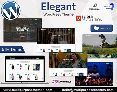 Elegant Business WordPress Theme