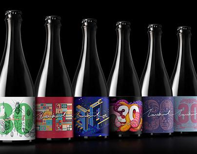 凌云创意出品---雪花啤酒 · Lovibond 30