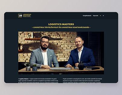 Logistics Masters webUI + build