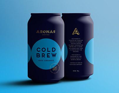 AROMAS COFFEE Packaging & Branding