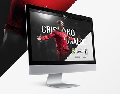 CR7 | Website Redesign