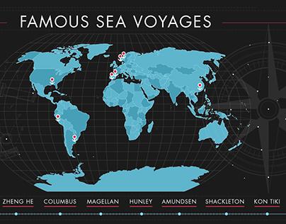 Famous Sea Voyages