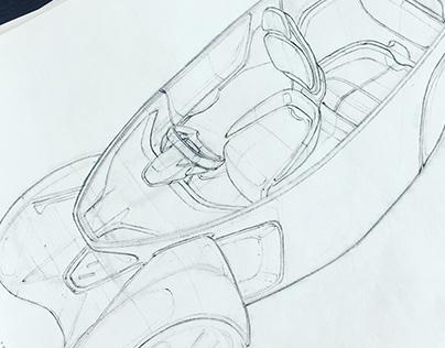 WIP sketches Renault Twizy successor