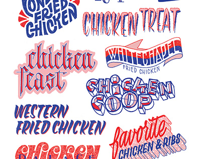 Chicken shops of London
