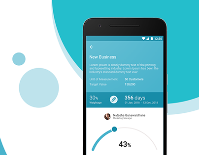 Performance Management - Mobile UI
