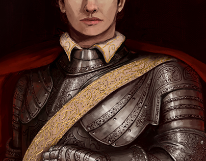 Portrait and armour practice