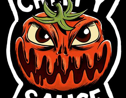 Ilustração - Creepy Sauce