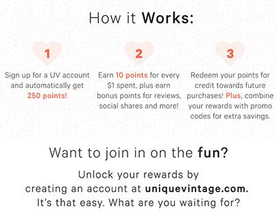 UV Devoted Darlings Rewards Re-launch, 2018