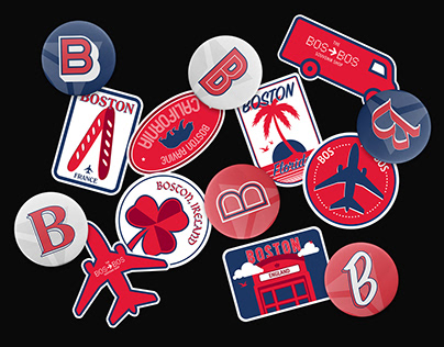 Boston to Boston Souvenir Truck - Delta Air Lines