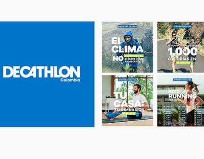 Campaña Social Media - Decathlon Colombia