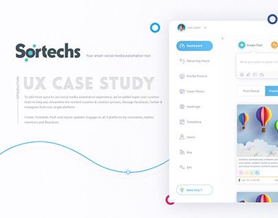 Sortechs - UX Case Study