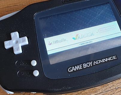 Raspberry PI Gameboy Advance