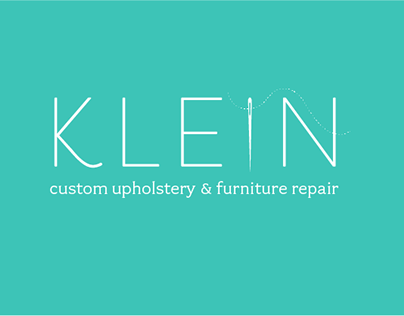 Klein Upholstery: Small Business Identity