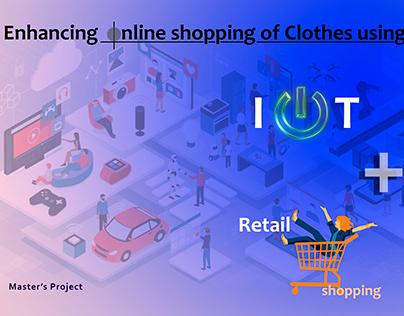Enhancing Online shopping Experience using IOT  UX & UI