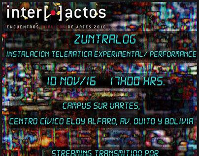 ZUNTRALOG// INTERACTOS// GUSANOS TELEMÁTICOS