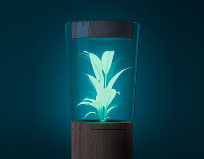 LUME - A glowing plant lamp
