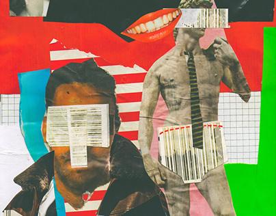 Job seekers // Analog Collage