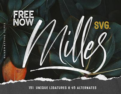 FREE MILLES SVG