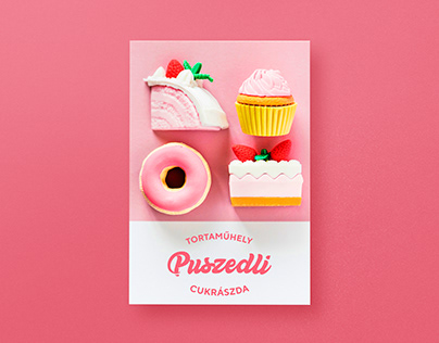 Puszedli Patisserie | Logo and Packaging Design
