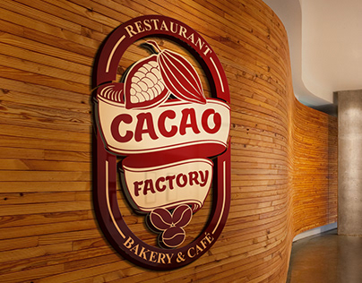 Cacao Factory Branding