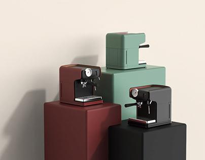 【 SHELL 】意式咖啡机 / Espresso coffee machine