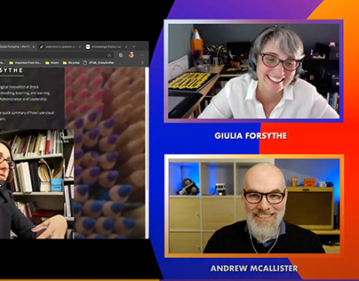 DESK LUNCH with Giulia Forsythe, October 7th, 2020