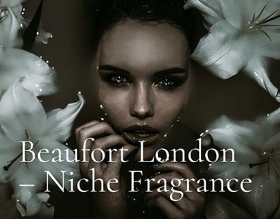 Redesign of Beaufort London website.