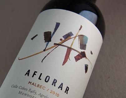 Aflorar. Wine packaging. Argentina