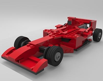 Lego Ferrari 248 F1