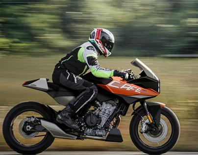 KTM 790 Cafe Racer
