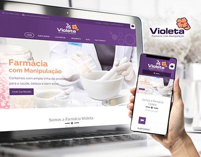 E-commerce farmaciavioleta.com.br