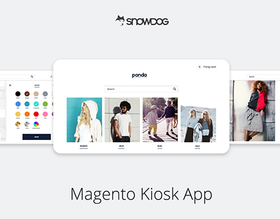 Magento Kiosk App - Unified commerce by SNOW.DOG