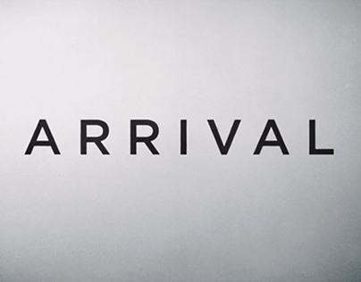 ARRIVAL (Movie Poster Design)