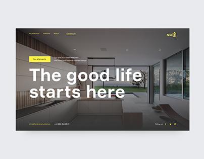 NRD—концепт сайта