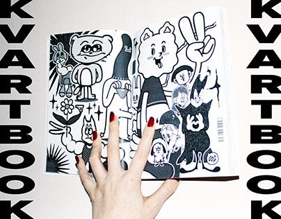 KVARTBOOK pages